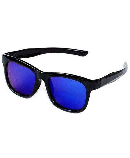 Kidofash Solid Sunglasses For Kids - Black