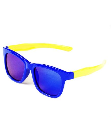 Kidofash Solid Sunglasses For Kids - Blue