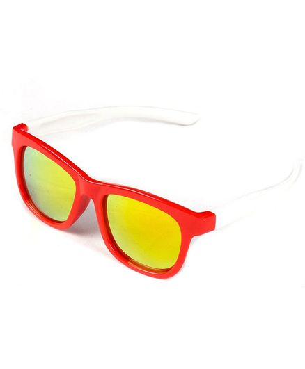 Kidofash Solid Sunglasses For Kids - Red