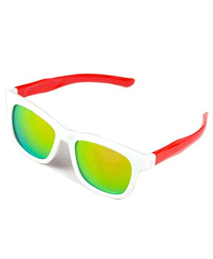 Kidofash Solid Sunglasses For Kids - White