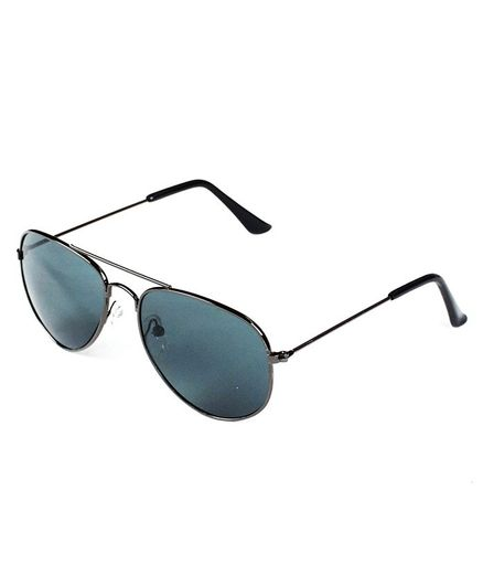 Kidofash Solid Sunglasses - Black