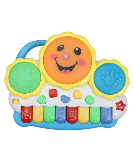 LuvLap Musical Drum & Keyboard Toy - Multicolour