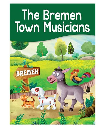 The Bremen Town Musicians Story Book - English