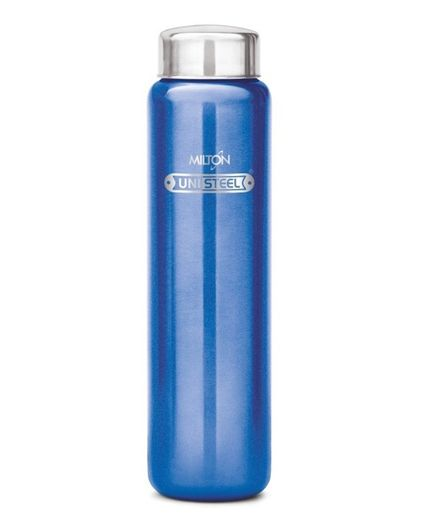 Milton Aqua Stainless Steel Water Bottle Blue - 750 ml