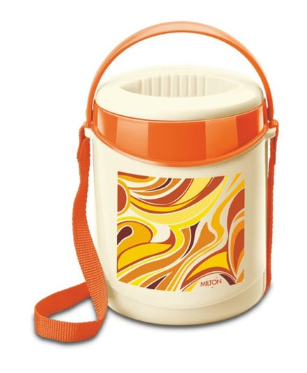Milton Econa Lunch Box With 4 Steel Containers - Orange