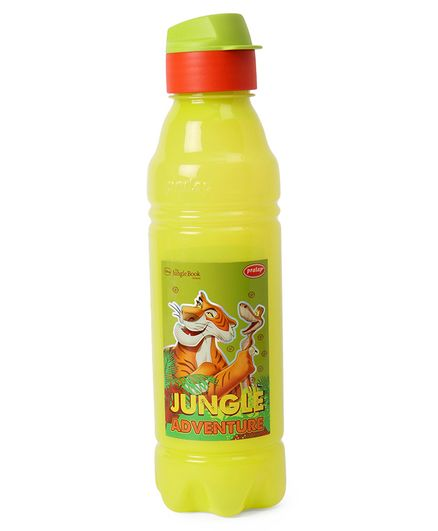 Jungle Book Water Bottle & Pencil Box Combo Green - 800 m