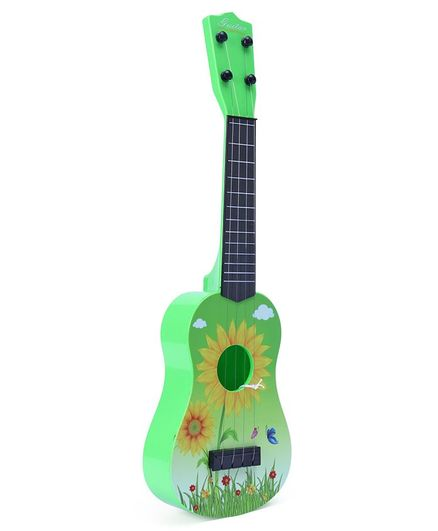 Childrens Toy Guitar - Green