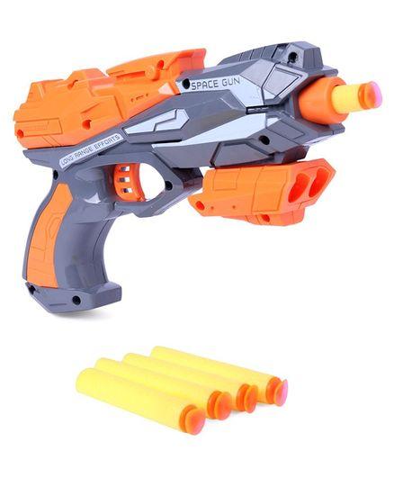 Soft Bullet Gun With Darts - Orange