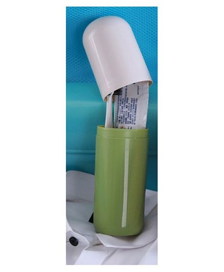 Syga Capsule Shaped Toothbrush Holder - Green