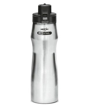 Milton Champ Sports Water Bottle Silver - 940 ml