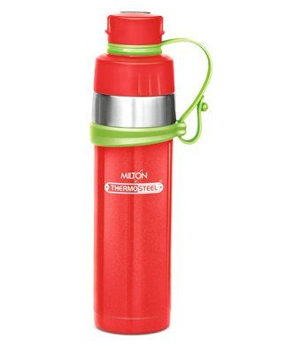 Milton Gist Thermosteel Vaccum Insulated Water Bottle Red - 480 ml