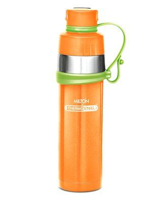 Milton Gist Thermosteel Vaccum Insulated Water Bottle Yellow - 480 ml