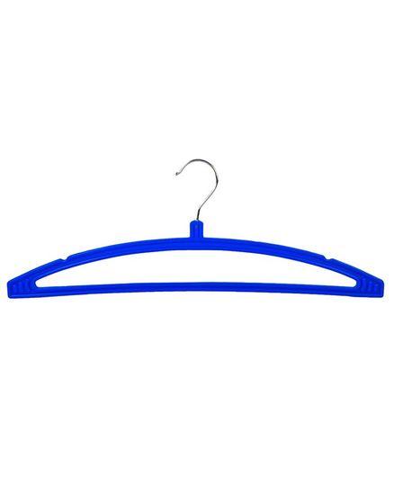 Bhakti Plastic Hanger  Pack of 10 - Blue