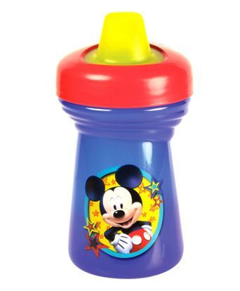 Disney Mickey Mouse Soft Spout Sipper Cup Blue - 295 ml