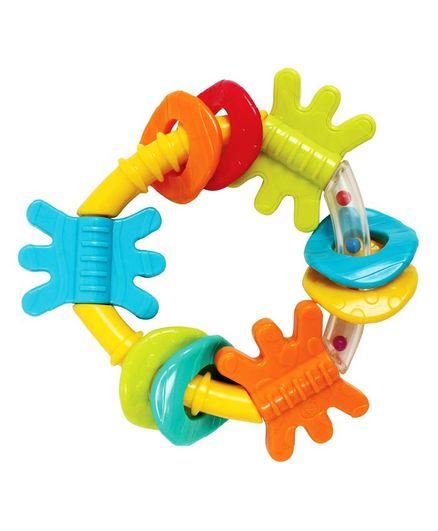 Playgro Triangle Rattle - Multicolour