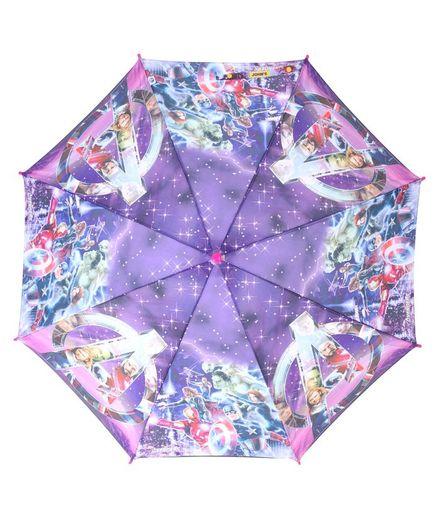 John's Umbrellas Avengers Print - Lavender