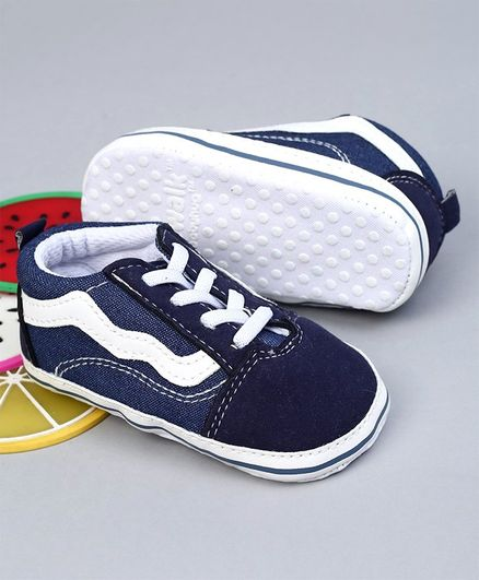 Cute Walk by Babyhug Shoes Style Booties - Navy Blue