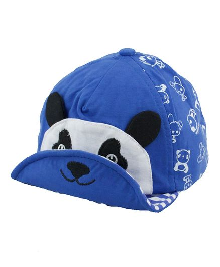 Kidofash Panda Face Patch Cap Blue Online in India 4eb6203ab20