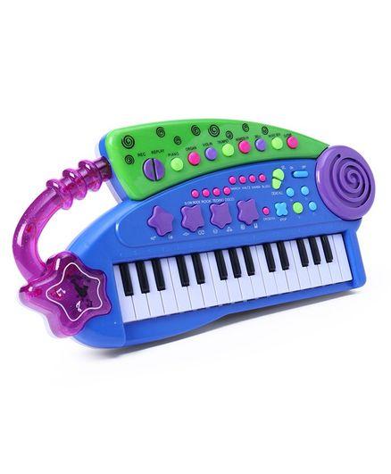 32 Keys Piano Music Center - Blue