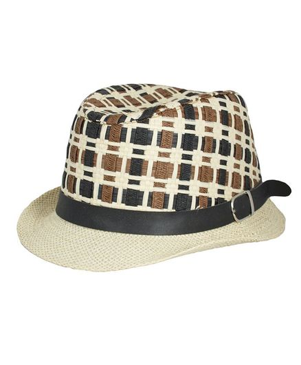 Kidofash Two Toned Fedora Hat - Black