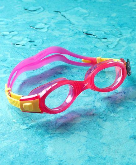 Speedo Swimming Goggles - Pink & Yellow