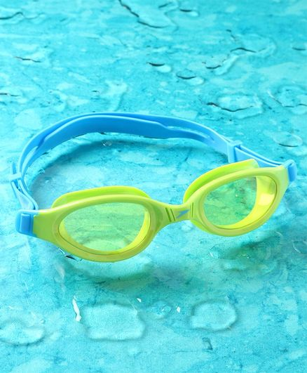 Speedo Swimming Goggles - Blue & Lime Green