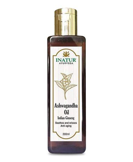 Inatur Ashwagandha Oil - 200 ml