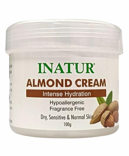 Inatur Almond Carrier Cream - 100 g