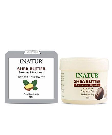 Inatur Shea Butter Carrier Cream - 100 gm