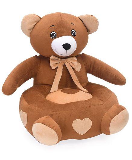 Benny & Bunny Teddy Bear Sofa Seat -Benny & Bunny Teddy Bear Sofa Seat - Brown