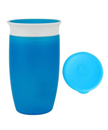 Munchkin Miracle 360 Degree Sippy Cup With Lid Blue - 295 ml