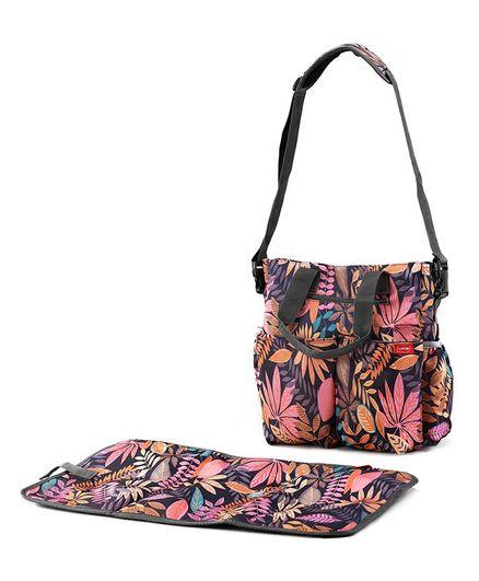 Luv Lap Adore Diaper Bag Floral Print - Pink