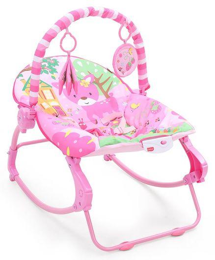 Luv Lap Spring Dale Toddle Rocker - Pink White