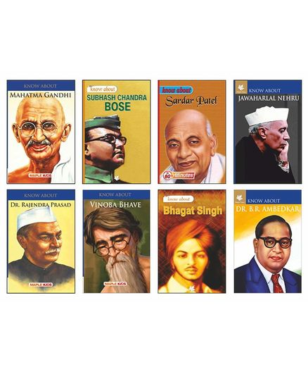 Freedom Fighters Set of 8 Books - English
