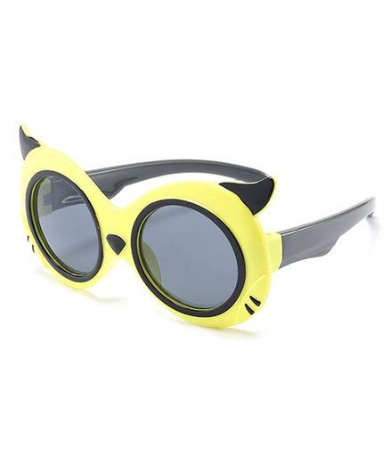 Little Palz Cat Eyes Design Sunglasses - Yellow