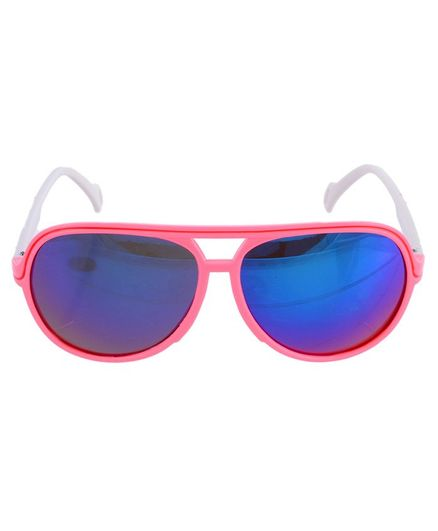 Little Palz Solid Reflector Aviators - Pink