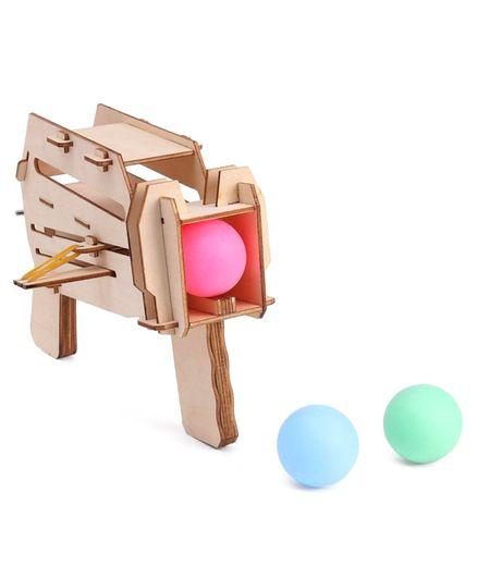 Imagician Playthings DIY PingPong Storm Gun - Multicolour