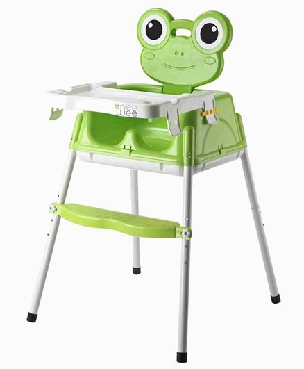 Nee & Wee 4-in-1 Baby High Chair Cum Booster Seat - Green