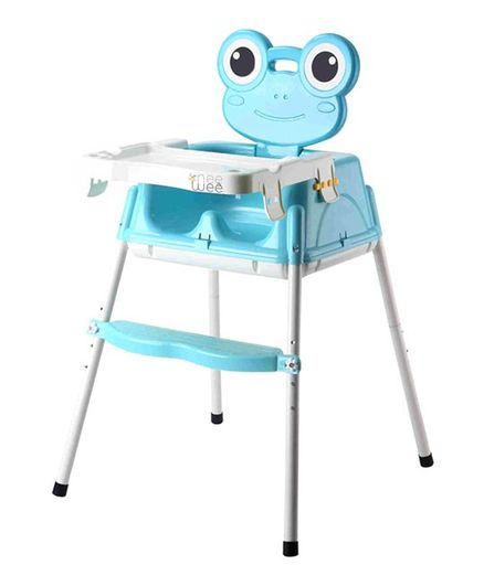 Nee & Wee 4-in-1 Baby High Chair Cum Booster Seat - Blue
