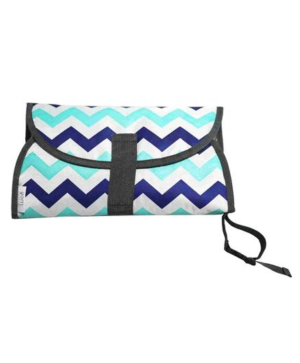 Nee & Wee Easy Change 3-in-1 Diaper Changing Clutch Pad - Blue