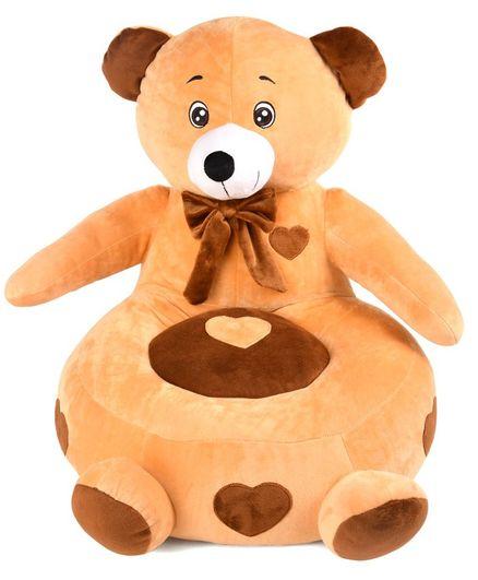 Benny & Bunny Teddy Bear Sofa Seat - Brown