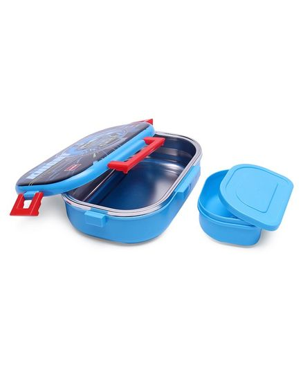 Cello Homeware Feast Steel Lunch Box With Small Container - Blue