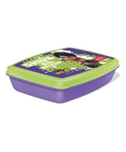 Milton Big Crunch 2 Plastic Container Tiffin Box Violet - 900 ml