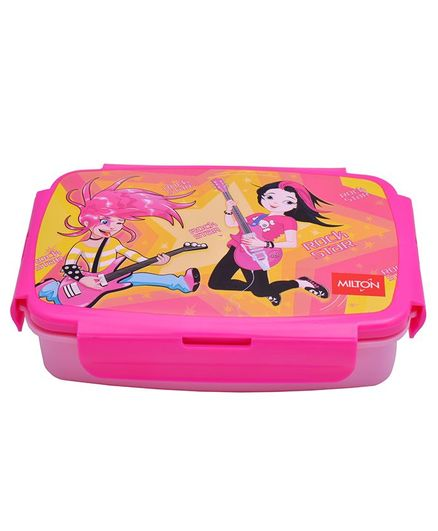 Milton Lunch Box With Small Container Pink - 900 ml