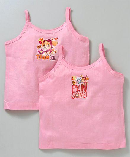 Mustang Paw Print Slip Pack of 2 - Pink