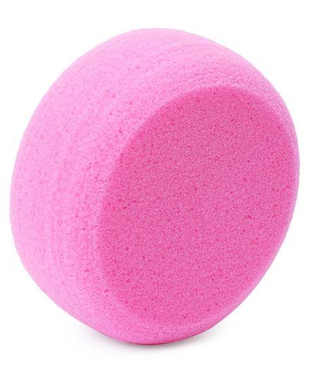 Round Baby Bath Sponge - Pink