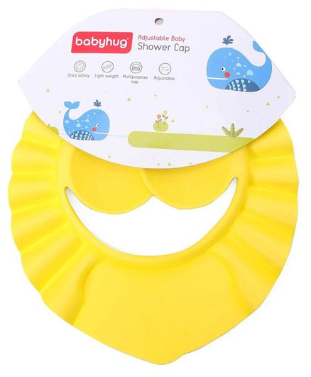 Babyhug Baby Shampoo Cap - Yellow