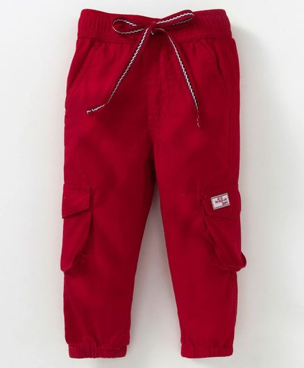 612 League Solid Bottom With Front Pockets - Red