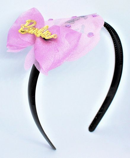 Barbie By Many Frocks & Bow Hair Band - Pink