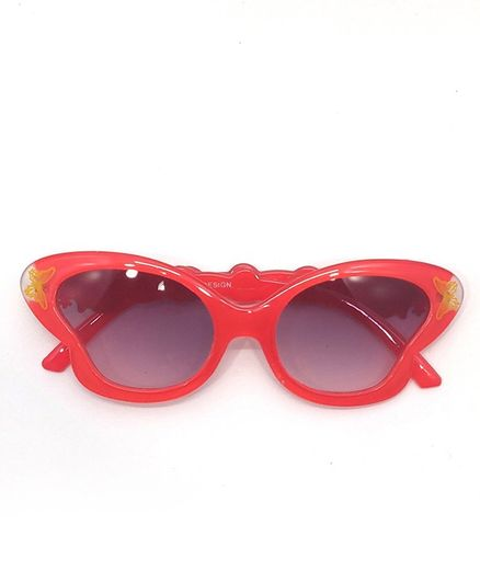 Kid-O-World Butterfly Sunglasses - Orange
